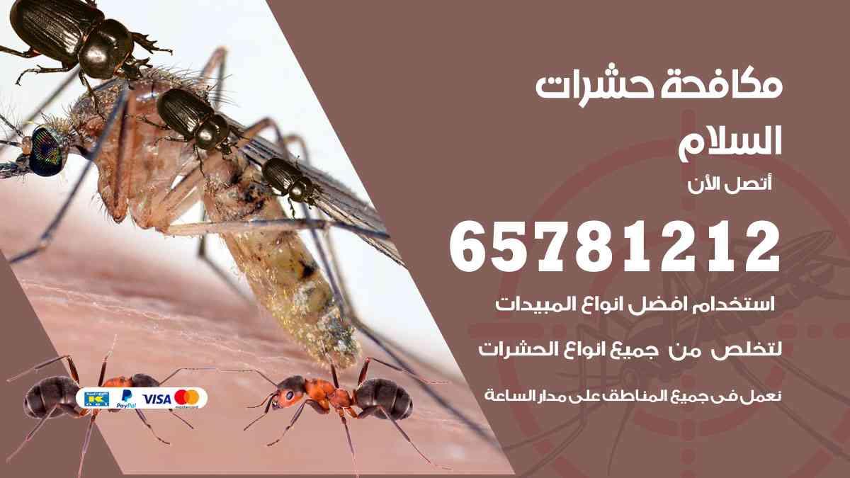 شركات مكافحة حشرات السلام
