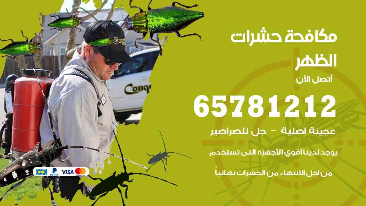 شركات مكافحة حشرات الظهر