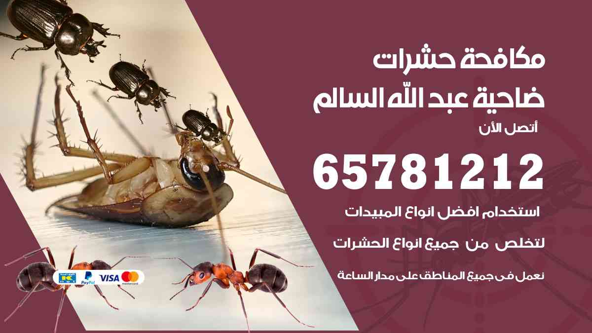 شركات مكافحة حشرات ضاحية عبدالله السالم