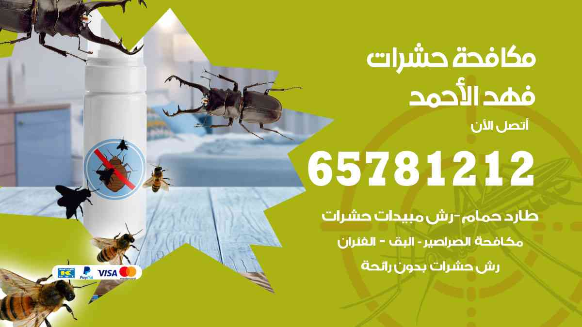 شركات مكافحة حشرات فهد الأحمد