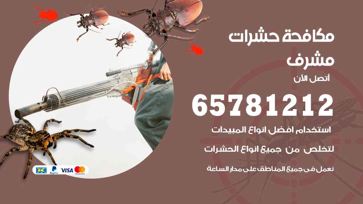شركات مكافحة حشرات مشرف