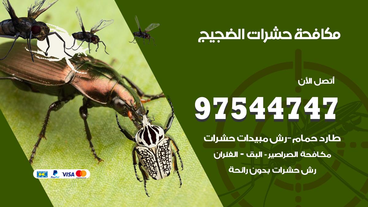 مكافحة حشرات وقوارض الضجيج